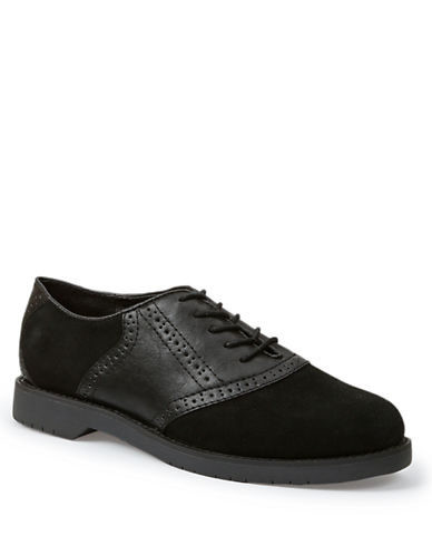BASS Enfield Suede Oxfords