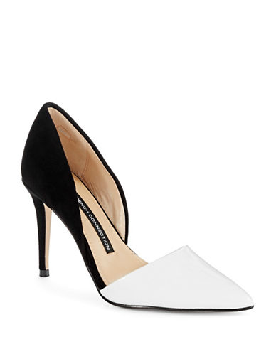 FRENCH CONNECTION Elvia Colorblock Heels