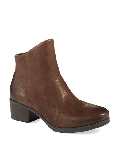 FRENCH CONNECTION Truman Textured Ankle Boots
