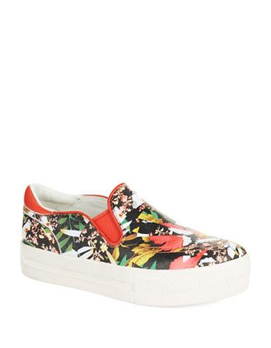 ASHJungle Leather Slip-On Sneakers