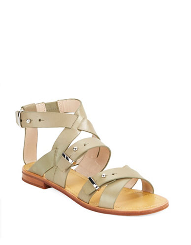FRENCH CONNECTIONHarmoney Leather Gladiator Sandals