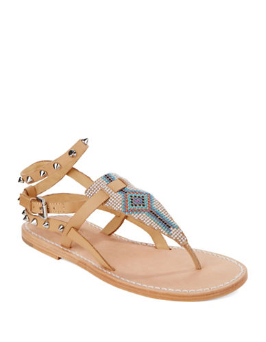 ASH Pam Leather Thong Sandals