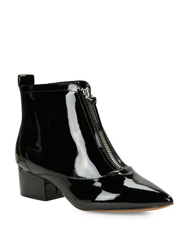 FRENCH CONNECTIONRobrey Patent Leather Ankle Boots