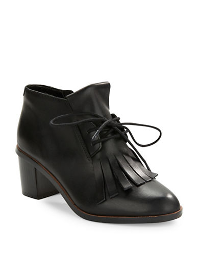 FRENCH CONNECTIONClair Fringed Ankle Boots
