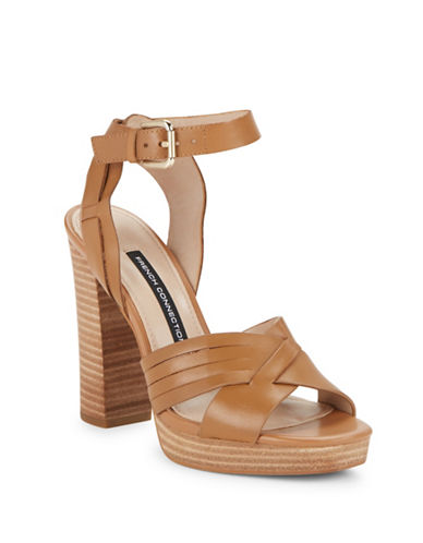Buy Gilda Platform Sandal Heels by French Connection online
