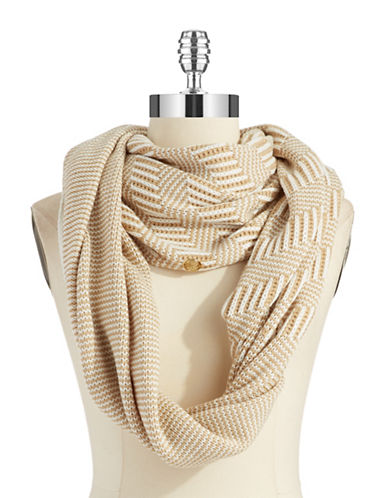 VINCE CAMUTO Infinity Loop Striped Scarf