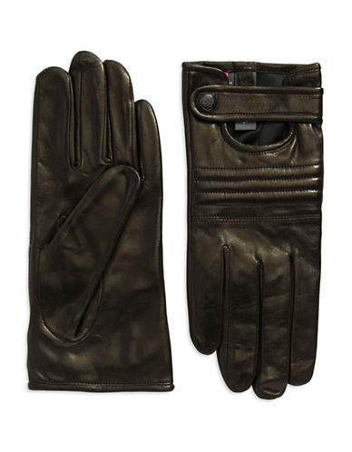 VINCE CAMUTOSnap Button Driving Gloves