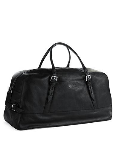 COLE HAANVegan Leather Duffle Bag