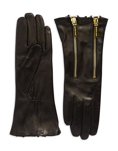 MICHAEL KORSDouble Zip Leather Gloves