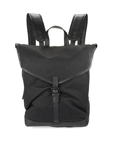 COLE HAANLeather Trimmed Messenger Bag