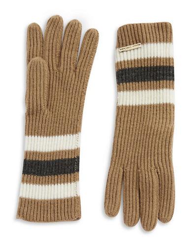 MICHAEL MICHAEL KORSKnit Striped Gloves