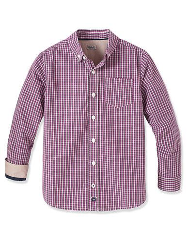 RUUMBoys 8-20 Checkered Button Down Shirt