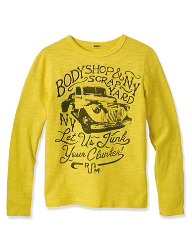 RUUM Boys 8-20 Body Shop Car Graphic Tee