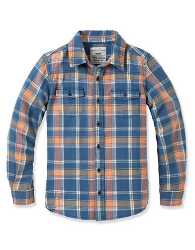 Ruum Boys 8-20 Jessie Plaid Shirt