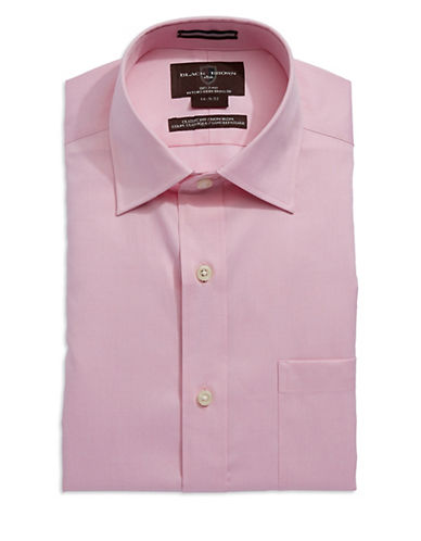 BLACK BROWN 1826Classic Fit Oxford Dress Shirt