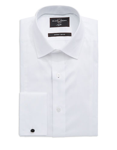 BLACK BROWN 1826 Fitted Dress Shirt