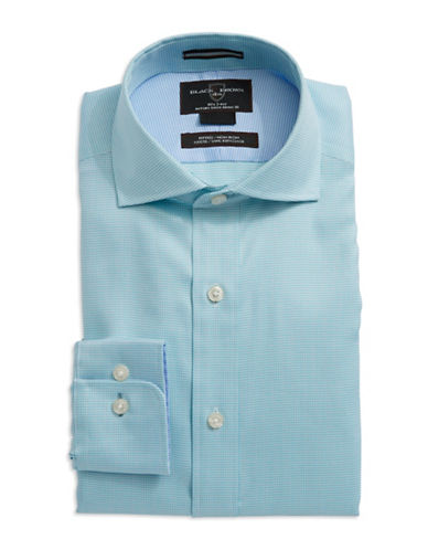 BLACK BROWN 1826Fitted Dress Shirt
