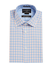 Black Brown 1826 Fitted Dress Shirts Men Lord And