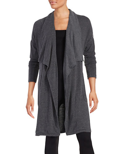 Calvin Klein Performance Knit Open Front Cardigan