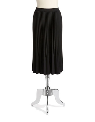 CALVIN KLEINPleated Midi Skirt