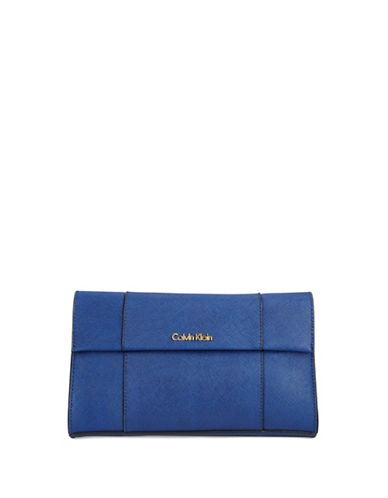 Calvin Klein Leather Clutch