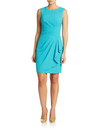 Shop Calvin Klein online and buy Calvin Klein Cascade Sheath Dress dress online