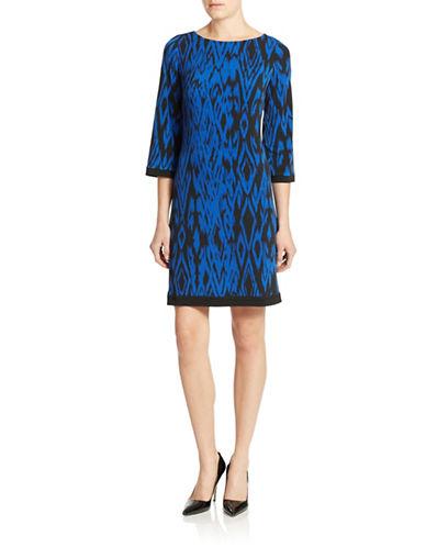 Shop Calvin Klein online and buy Calvin Klein Geo Print Shift Dress dress online