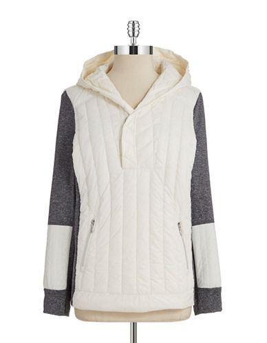 CALVIN KLEIN PERFORMANCE Colorblock Down Jacket