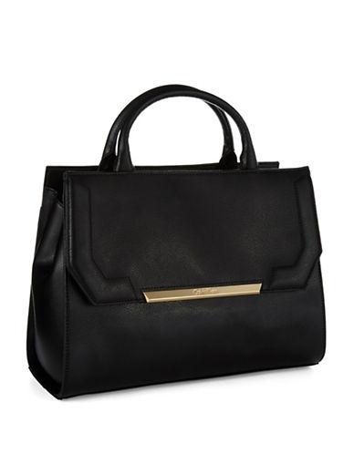 CALVIN KLEINLeather Shopper Bag