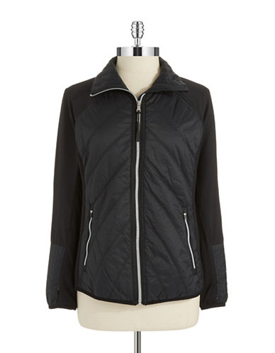 CALVIN KLEIN PERFORMANCE Packable Zip-Up Jacket