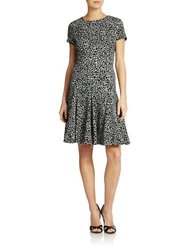 Calvin Klein Flared Knit Dress