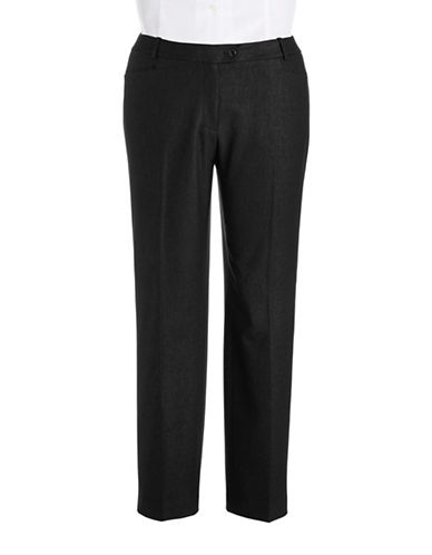 CALVIN KLEIN Petite Metallic Modern Fit Trousers
