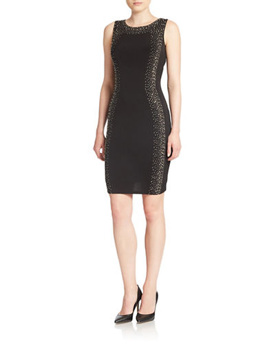 e956c306 UPC 888738738736. ZOOM. UPC 888738738736 has following Product Name  Variations: Calvin Klein Studded Sheath Dress ...