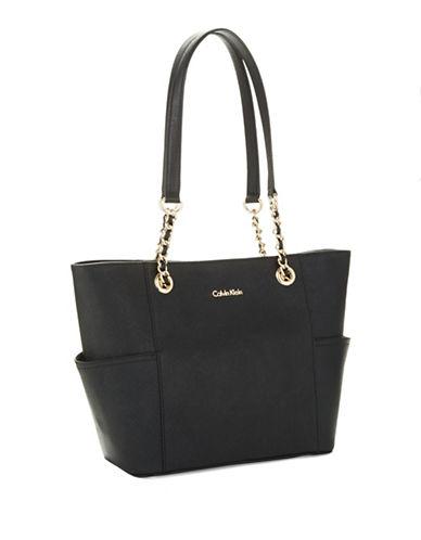 Calvin Klein Leather Satchel Bag