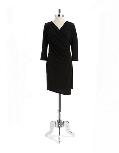 Shop Calvin Klein online and buy Calvin Klein Side Ruched Sheath Dress dress online
