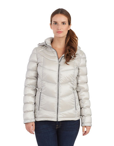 CALVIN KLEIN Petite Packable Down Coat