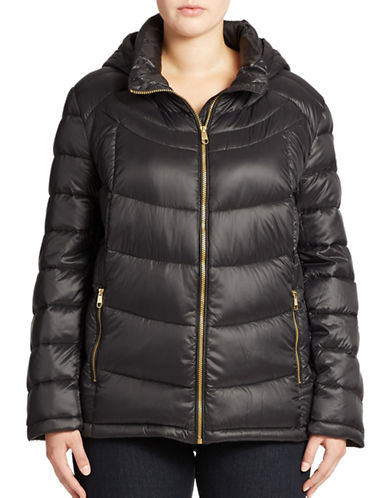 Calvin Klein Plus Packable Down Coat
