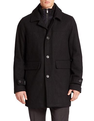 CALVIN KLEINLayred-Look Stretch-Wool Coat
