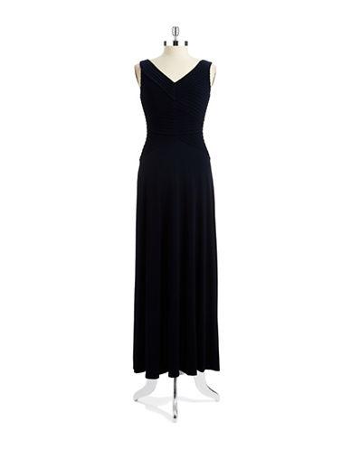 Shop Calvin Klein online and buy Calvin Klein V Neck Ribbed Dress dress online