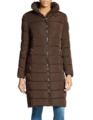 CALVIN KLEINKnee-Length Down Coat