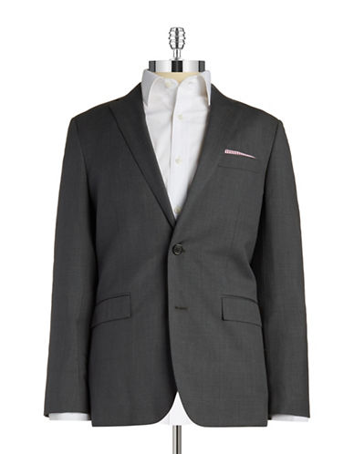 BROOKS BROTHERS RED FLEECE Two-Button Wool Blazer