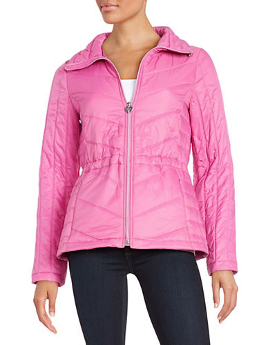 guess female 243279 packable quilted coat
