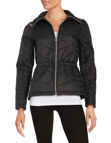 guess female 188971 packable quilted coat