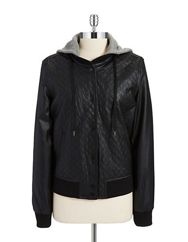 TINSELQuilted Bomber Jacket