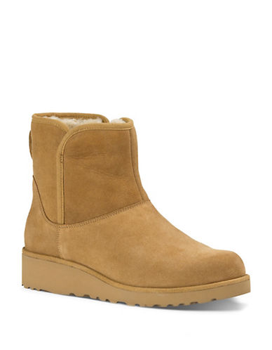 ugg australia female kristin classic slim short wedge boots