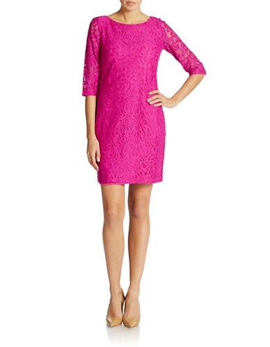 Shop Ivanka Trump online and buy Ivanka Trump Lace Sheath Dress dress online