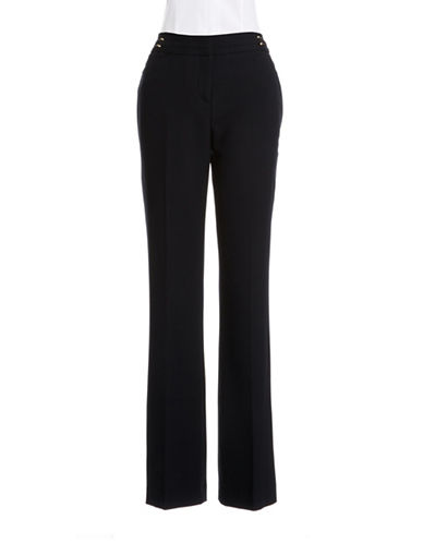 IVANKA TRUMP Metallic Detail Trousers