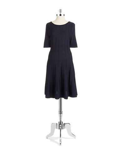 Shop Ivanka Trump online and buy Ivanka Trump Gored Fit and Flare Dress dress online