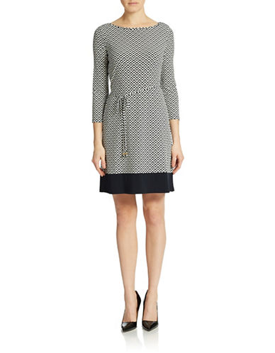 Shop Ivanka Trump online and buy Ivanka Trump Geo Shift Dress dress online