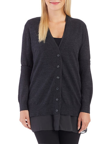LORD & TAYLOR V Neck Cardigan